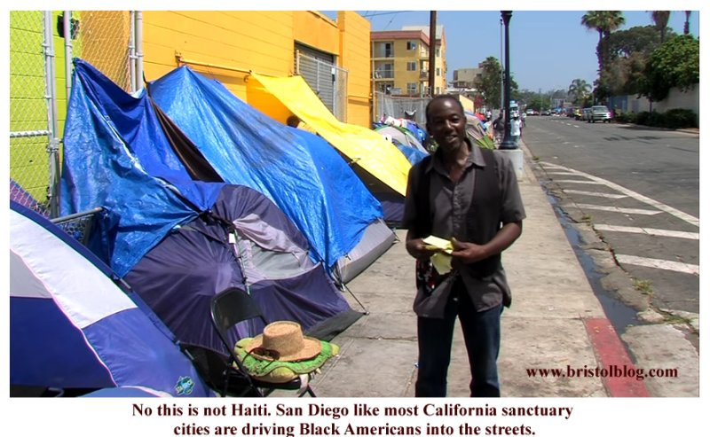 Black and homeless in San Diego.